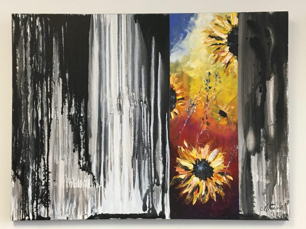 'Sunflowers' by Amir Tehrani