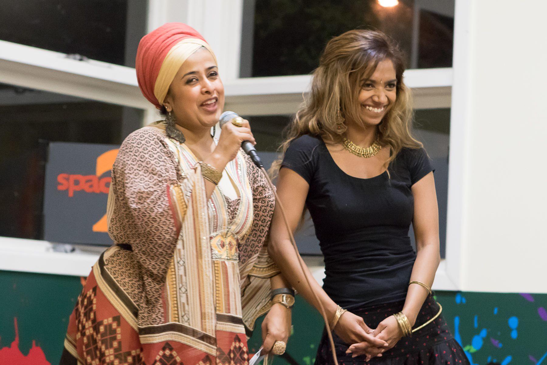 Tasneem Chopra & E'Eda