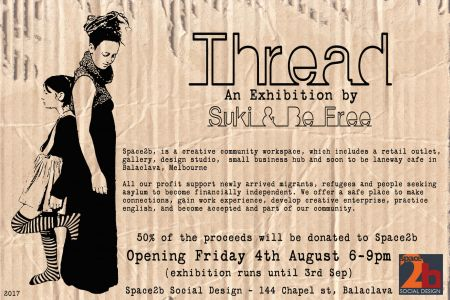 thread suki be free space2b poster web