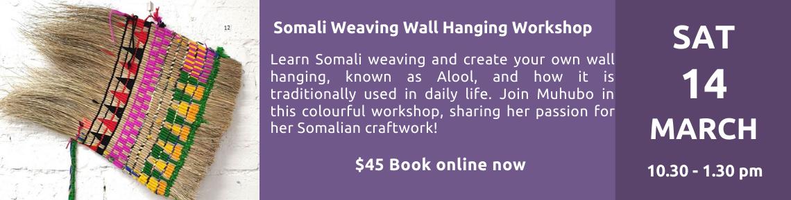 Weaving Workshop 14 March